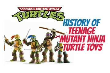 A Brief History of Teenage Mutant Ninja Turtle Toys